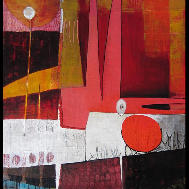 67x72 Acrylique sur toile