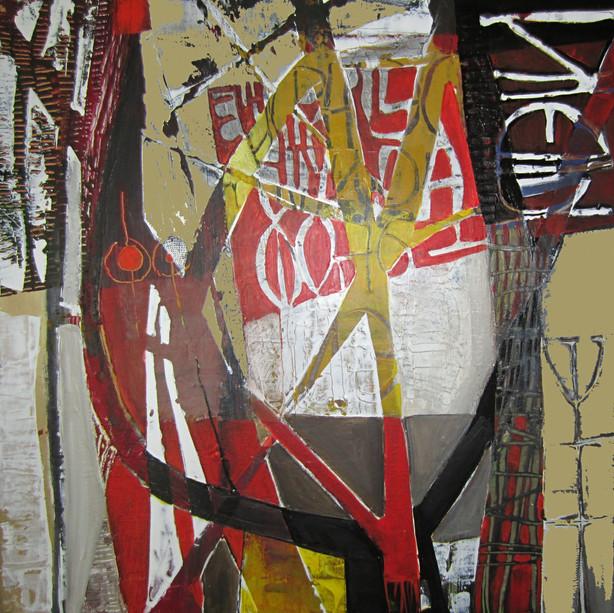 45x45 Acrylique sur toile