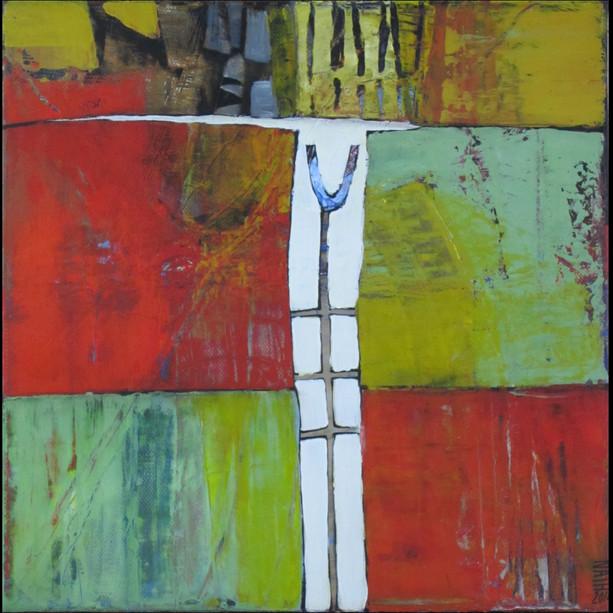 30x30 Acrylique sur toile