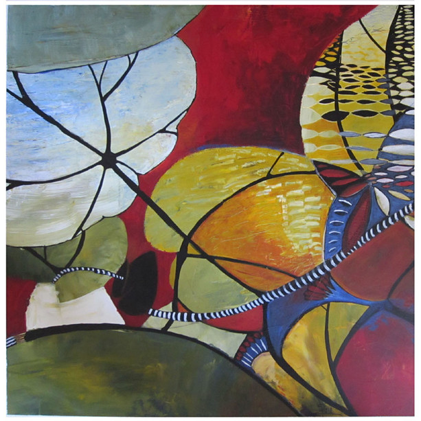 50x50 Acrylique sur toile