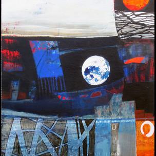 95x75 Acrylique sur toile