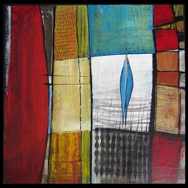 48x48  Acrylique sur toile