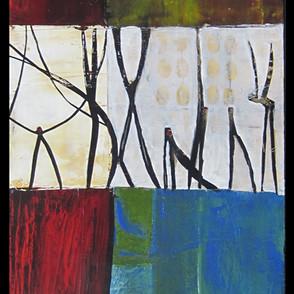 30x92 Acrylique sur toile