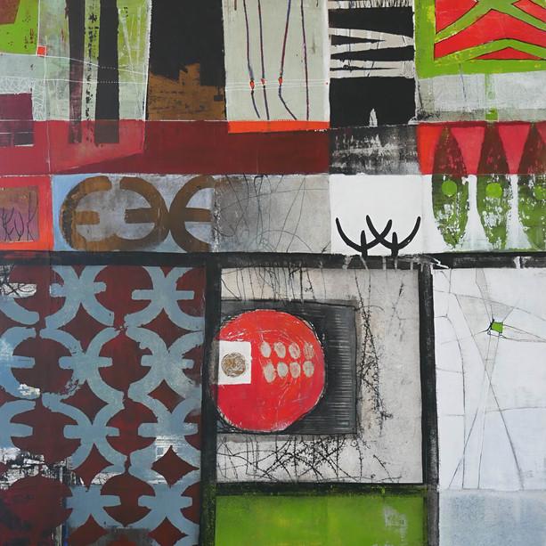 81x116 Acrylique sur toile