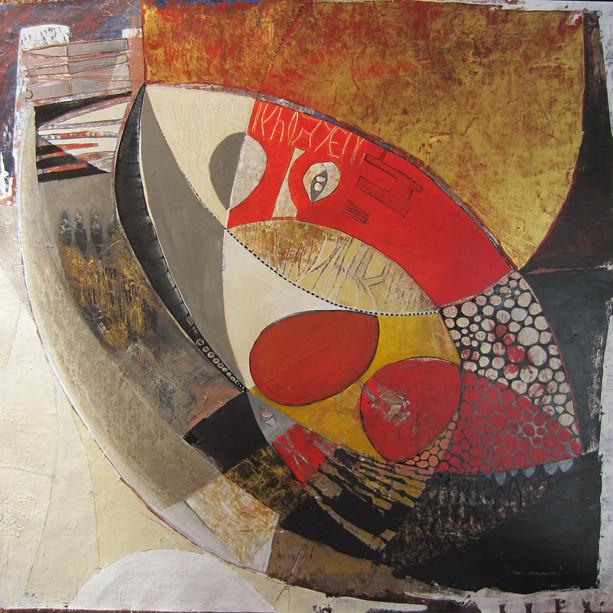74x76  Acrylique sur toile