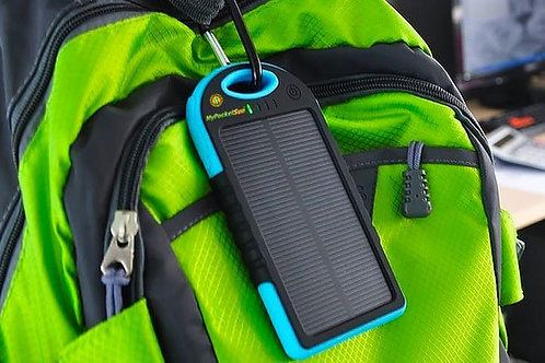 CHARGEUR SOLAIRE HYBRIDE - 5 000 mAh