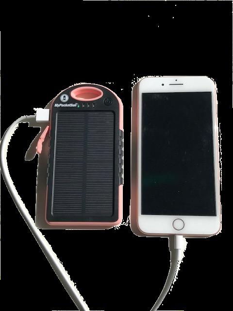 chargeur téléphone solaire 5000 mAh
