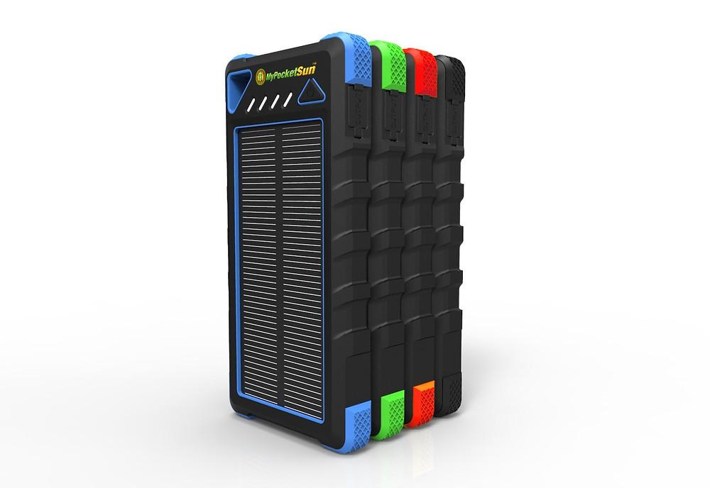 batterie panneau solaire 16000 mAh