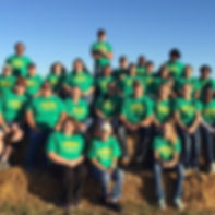 The 2015 staff aka The Corn Crew