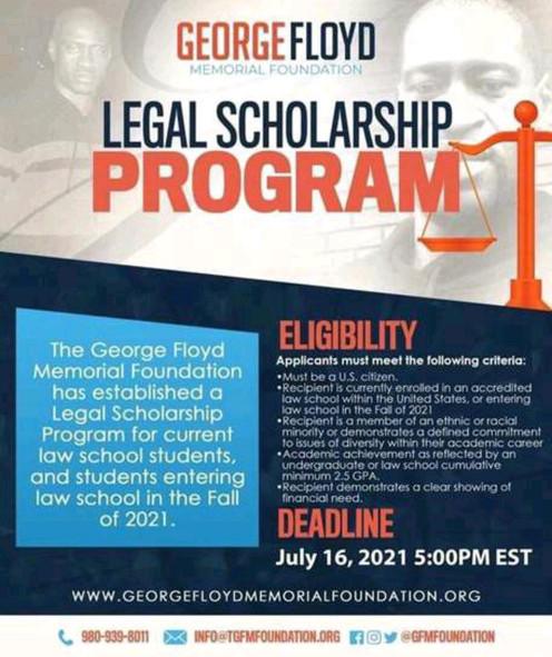 George Floyd Memorial Fund Legal Scholarship