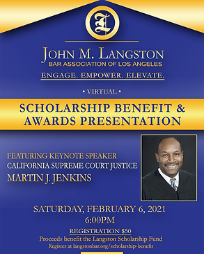 2021 Langston Scholarship Benefit Event