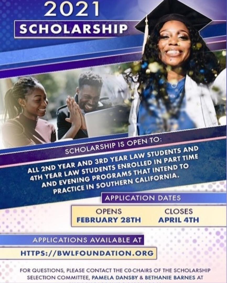 Black Women Lawyers Foundation Scholarship