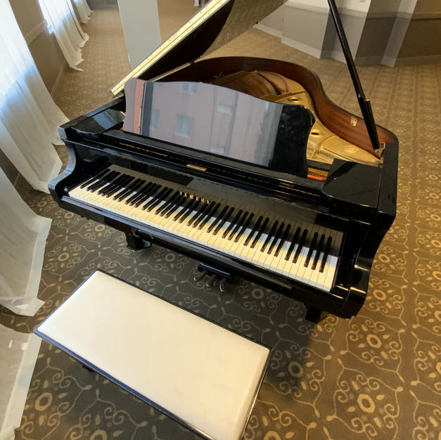 Yamaha Baby Grand Piano Bench & Cover Included