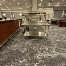 Stainless Steel Prep Table 2-Tier