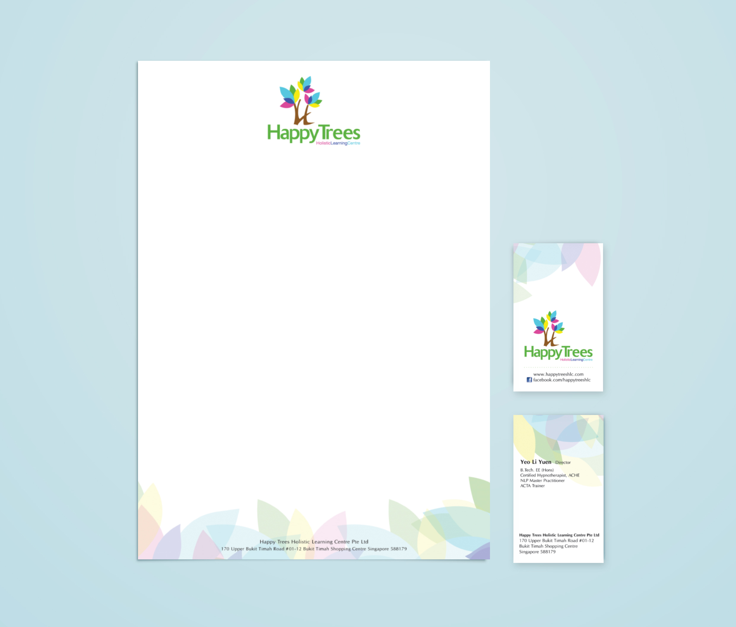 Corporate Stationery - Happy Tree