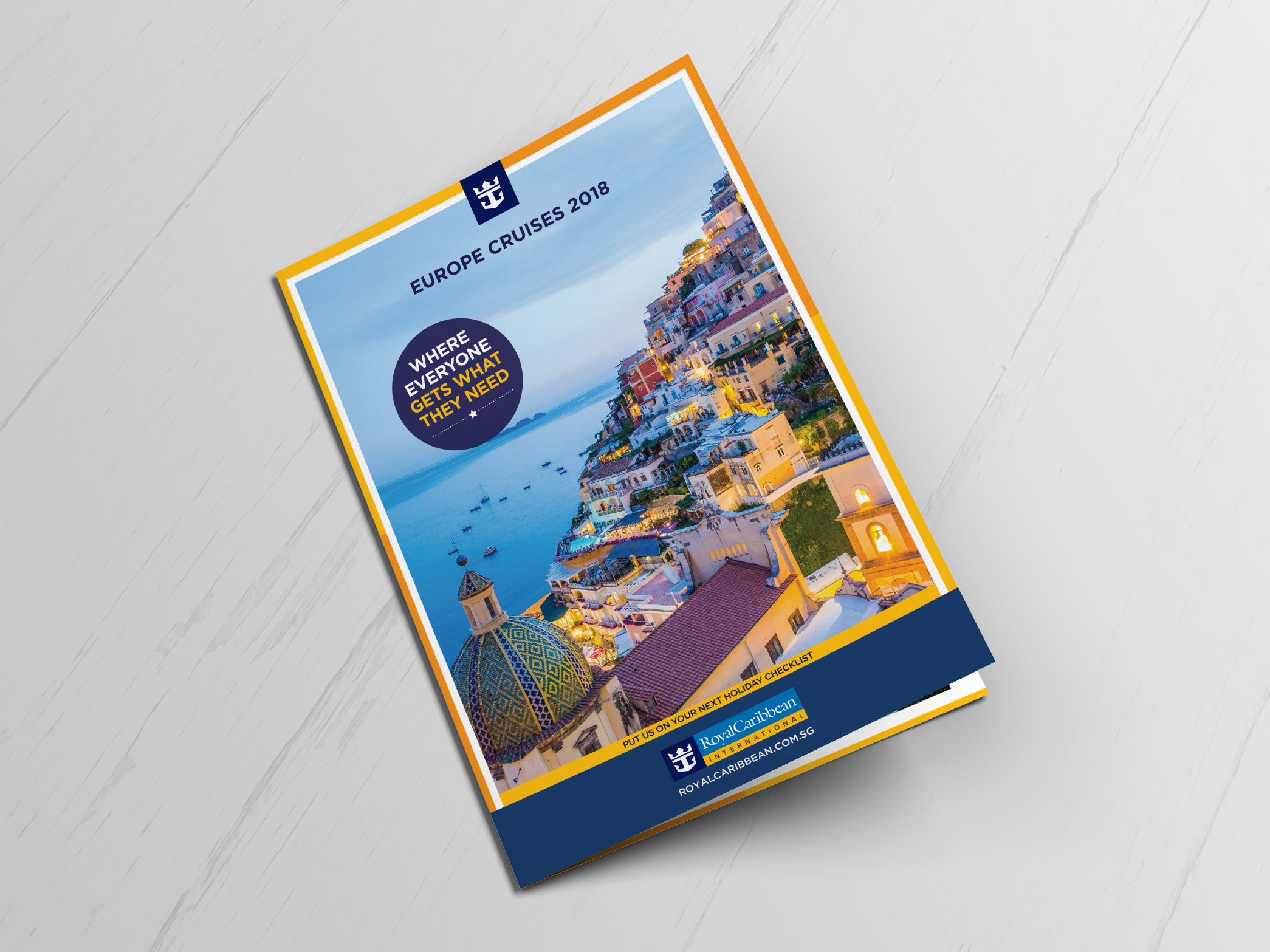 Royal Caribbean Brochure