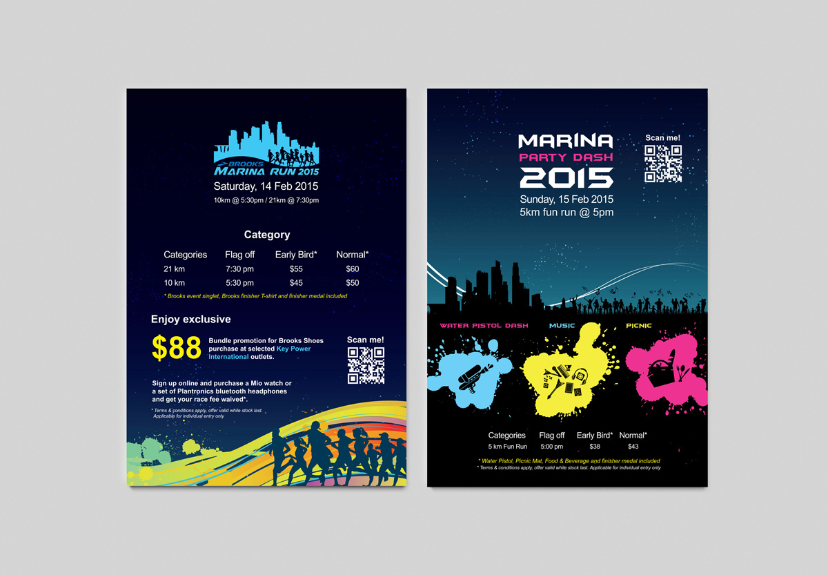 Marina Run Flyers
