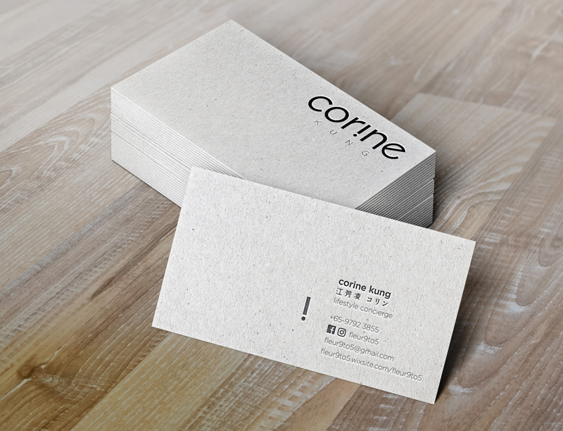Corine Kung Business card