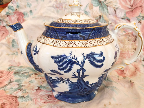 Real Old Willow Teapot