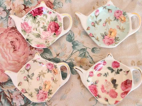 Porcelain Tea Bag Holder
