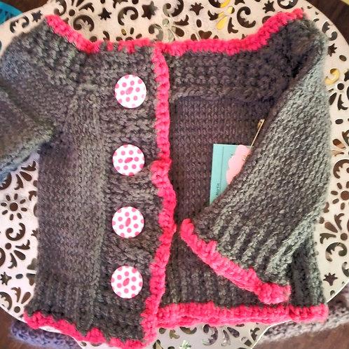 12 month baby girl cardigan