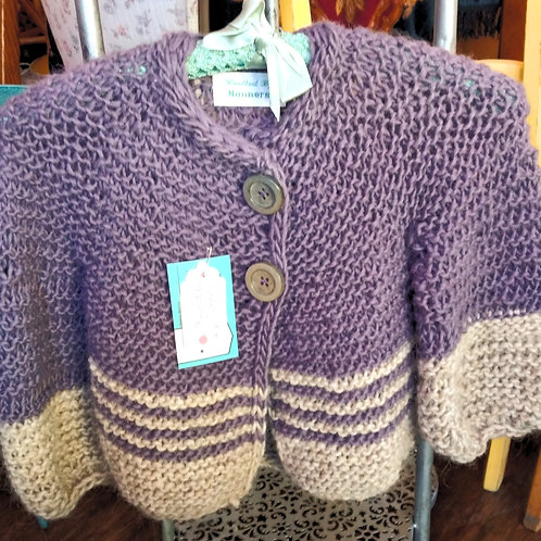 Purple Haze Girls Cardigan