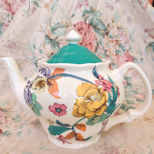 Tropical Turquoise Teapot