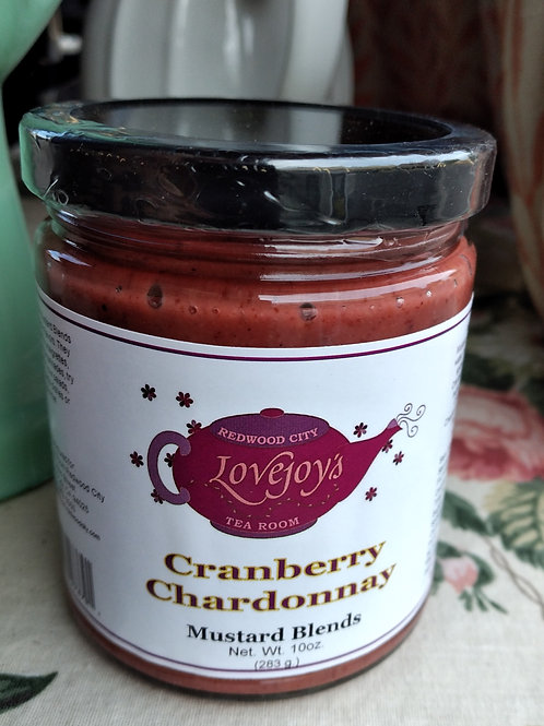 Cranberry Chardonnay Mustard