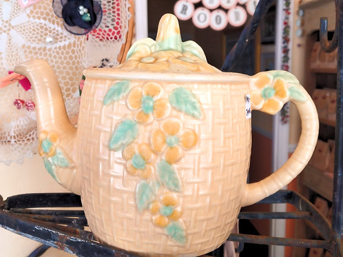 Wade Heath Basket Weave Teapot