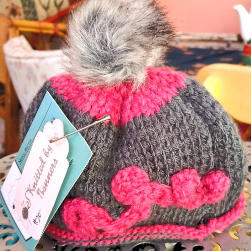 Hand-knit Beanies