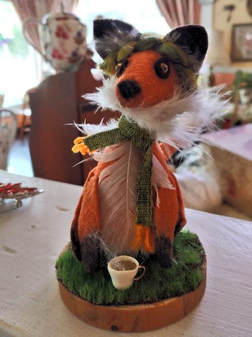Cozy Fox - handmade