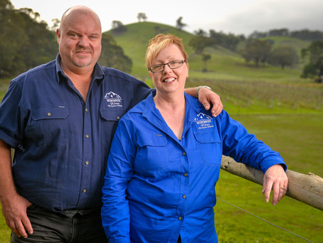 Meet the owners: Shane & Jane Goninon, Mountainside Wines