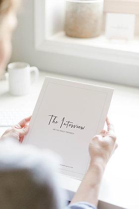 The Interview Workbook + Video Tutorial