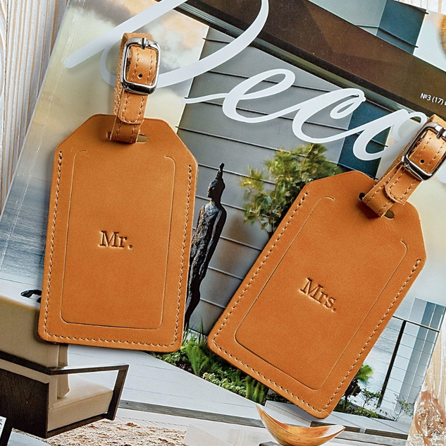Leather Travel Tags