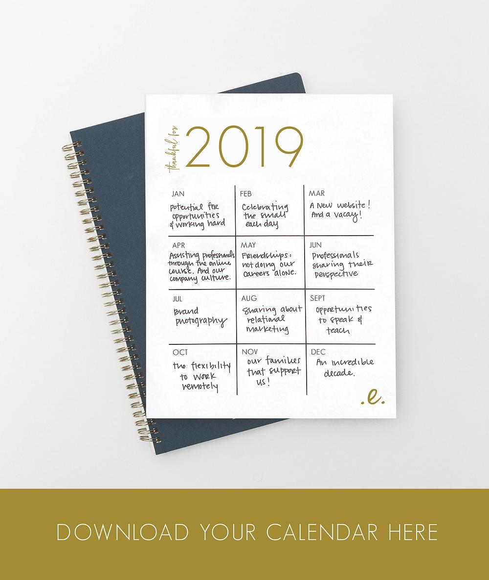 eloise 2019 calendar