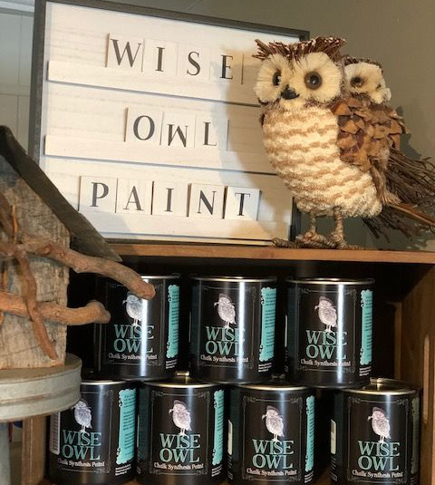 Catonsville Mercantile Maryland Wise Owl Paint