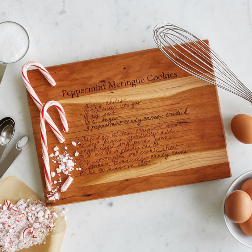 Wooden Recipe Board
