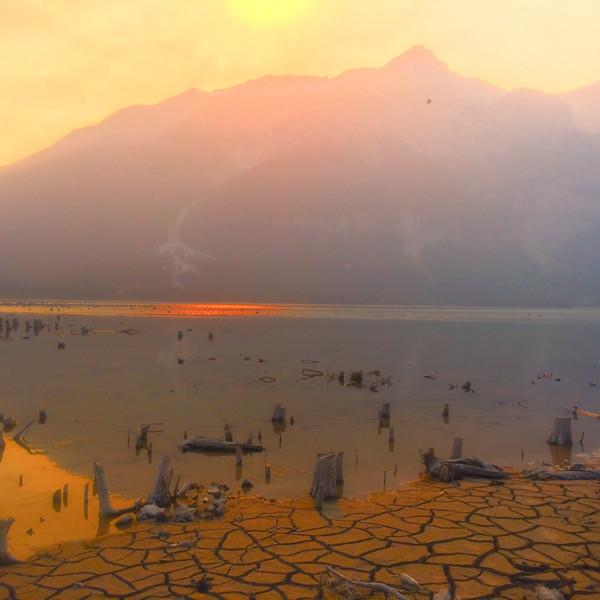 Spray Lake Sun
