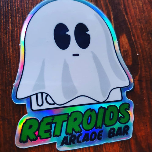Spook Holographic Sticker