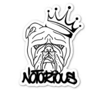 Notorious PIG Glossy Sticker