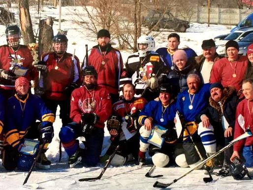 Хокейні забави села