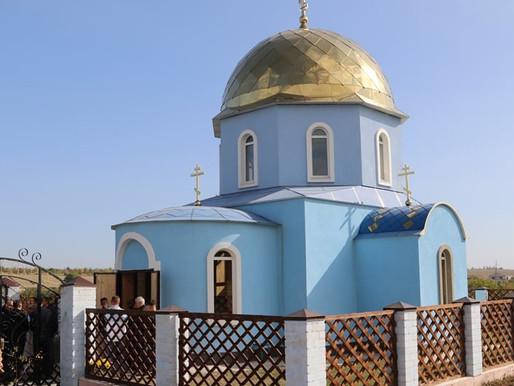 У Любимівці постав православний храм