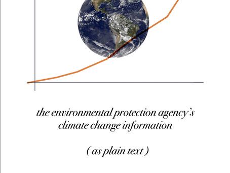 THE EPA'S CLIMATE CHANGE INFORMATION (AS PLAIN TEXT) - PDF