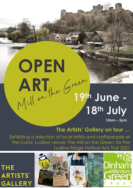 Open Art at Mill on the Green with artis