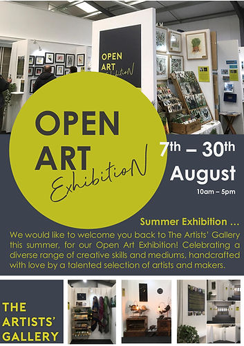 Open Art at The Artists Gallery August 2