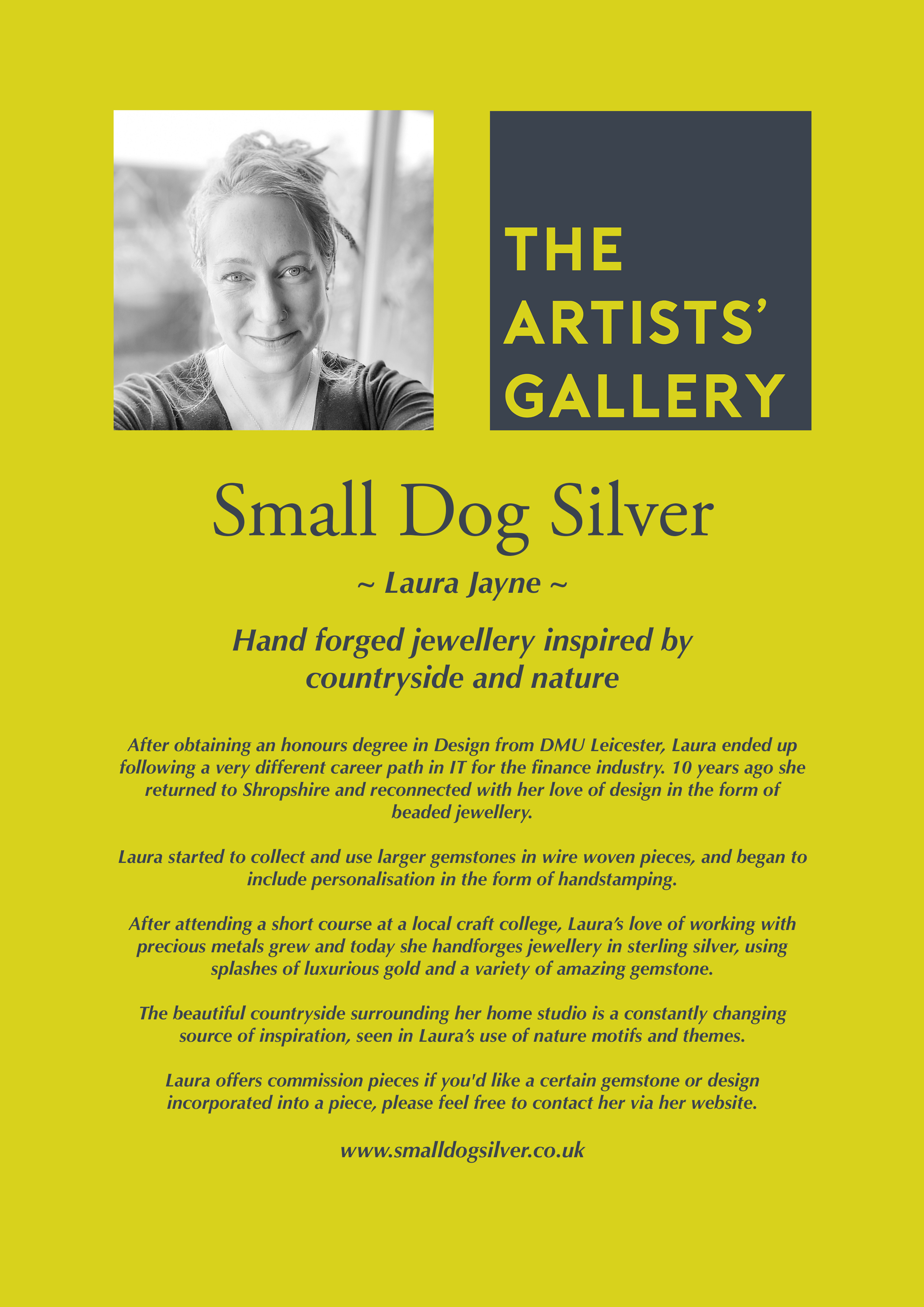 Small Dog Silver