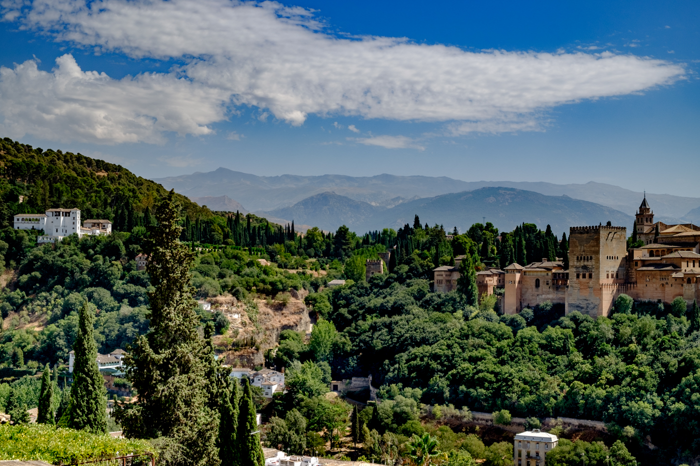 GRANADA SKYLINE by Chris Reynolds