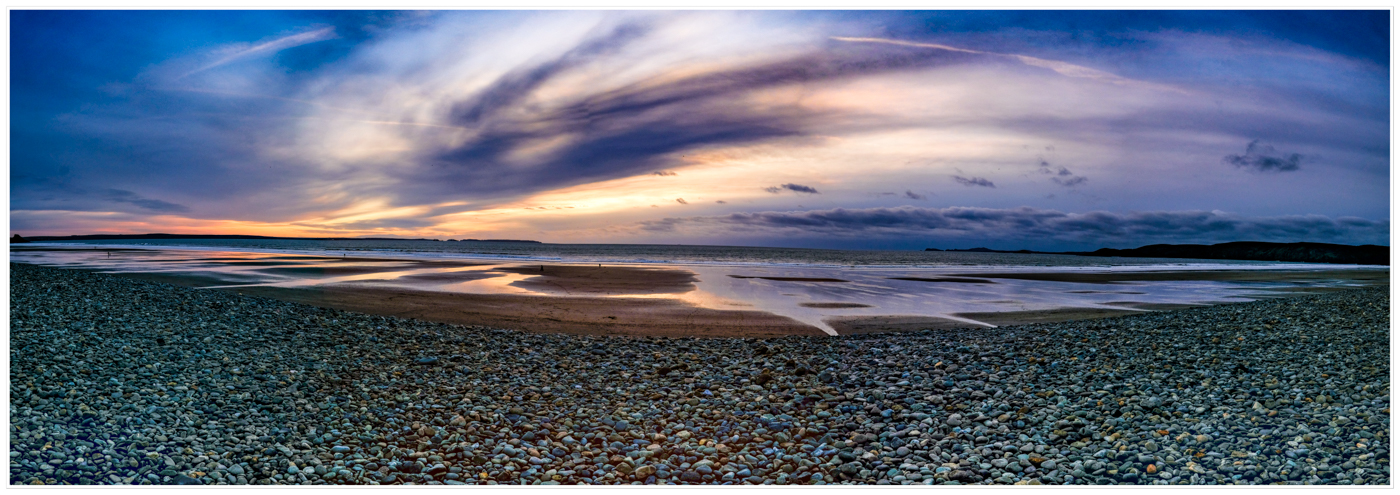 SUNSETS OVER NEWGALE BEACH by Chris Reynolds