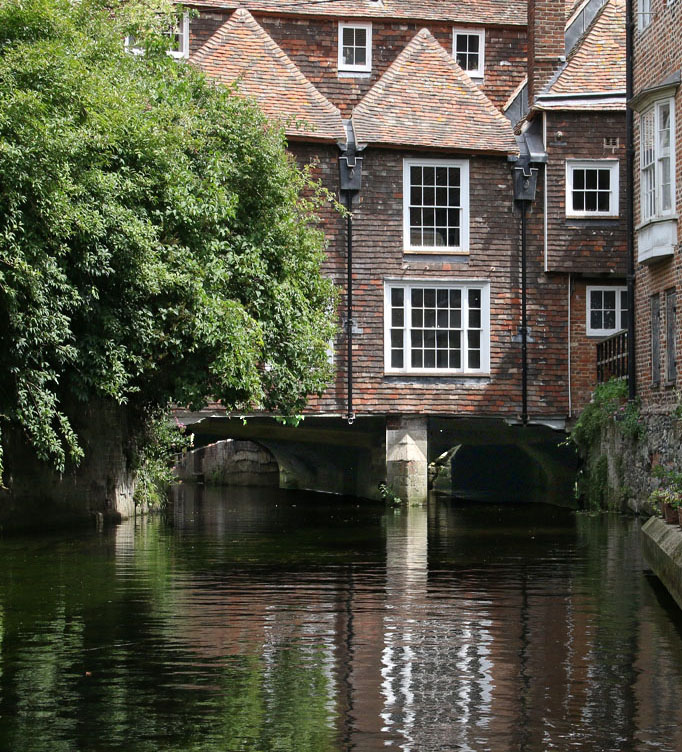 KINGS BRIDGE CANTERBURY by Richard Peters