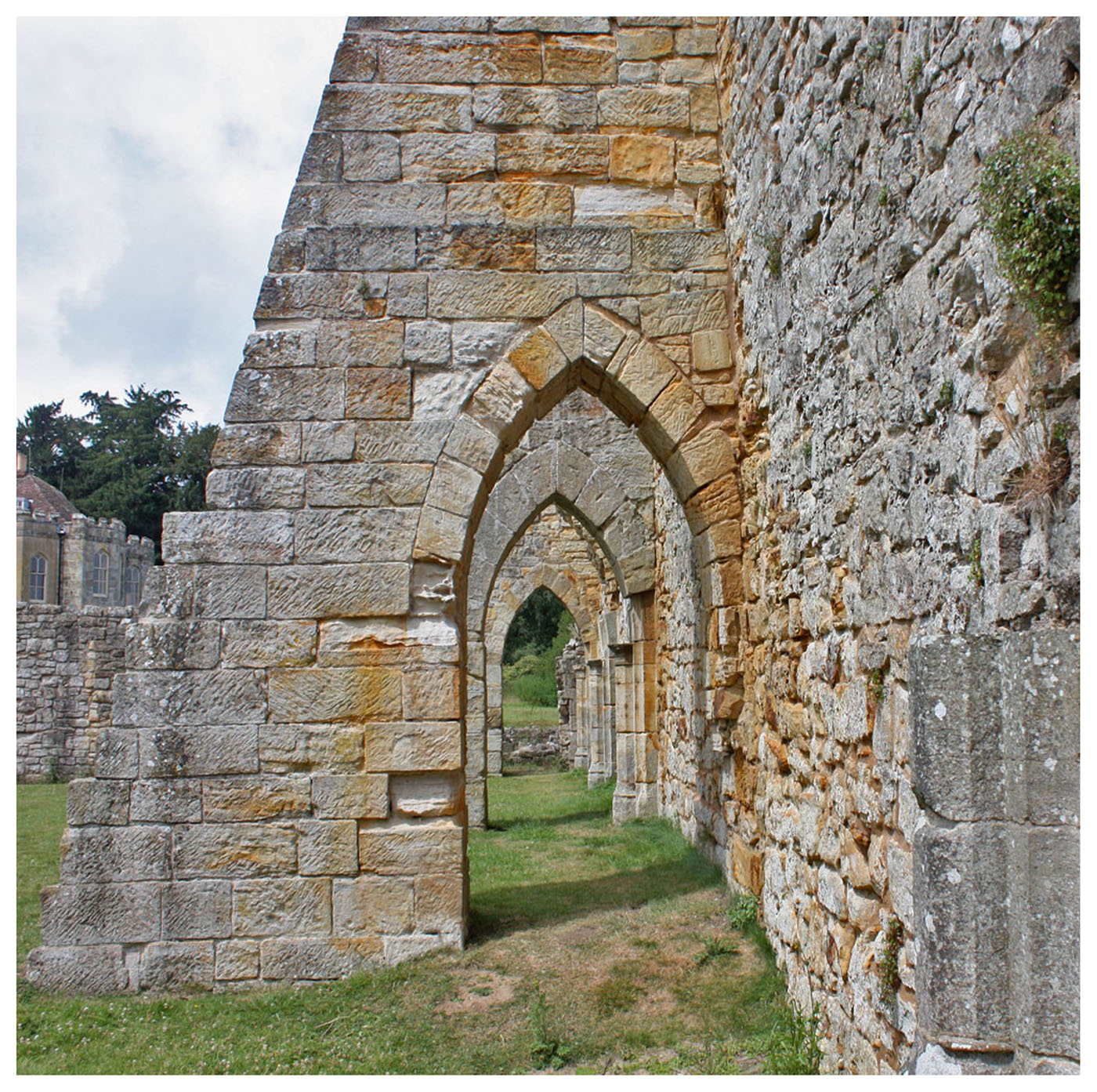 BAYHAM ABBEY by Richard Peters